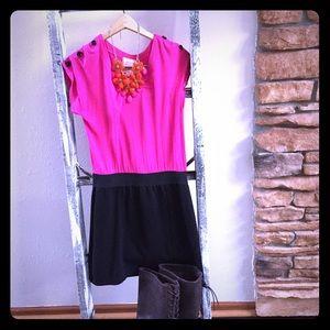 PInk  republic  Dresses & Skirts - PINK Republic dress Hot pink &black