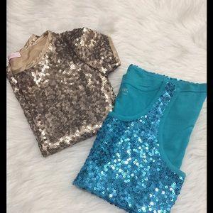 Pinc Premium Other - 2 sequins girls top