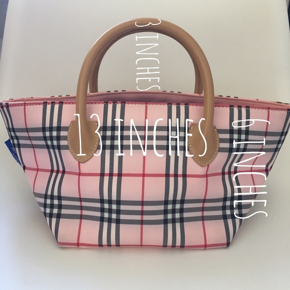 Burberry Handbags - Authentic Burberry blue label Japan pink mini bag 2f1f4a34380d3