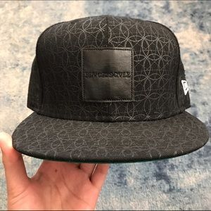 Black Scale Other - Black Scale Fitted Hat 7 5/8