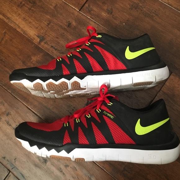 Men's Nike free 5.0 flywires