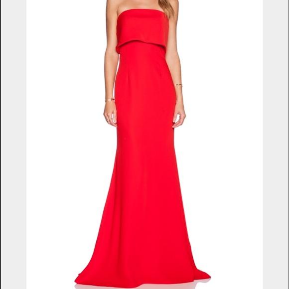 419d5284fb8a Jarlo Dresses & Skirts - Jarlo 'blaze' strapless gown