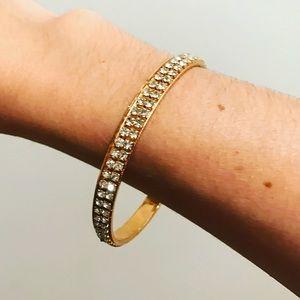 Gorjana Jewelry - Gold diamond bangle bracelet