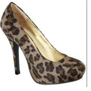 Mossimo Cheetah Print Heels