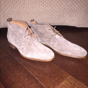 Vince Other - Vince brand new gray suede chukkas