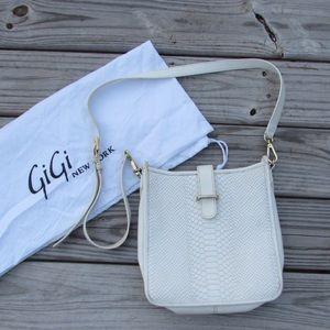 Gigi New York White Crossbody