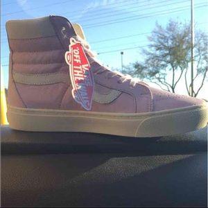 Vans Shoes - Vans Pink Hightops BNIB