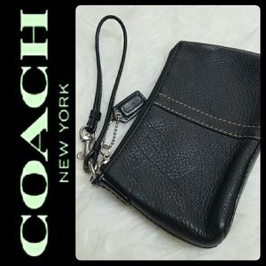 Coach Handbags - Coach Leather Wristlet