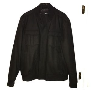 Black Rivet Other - Men's Black Rivet Peacoat/Bomber Jacket - Size XL