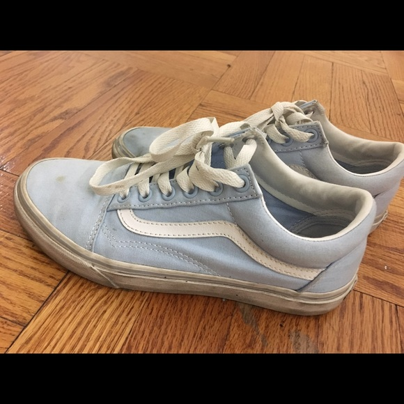 6fbe97086a8 Light blue vans old skool. M 587d5aaf99086ae571023b62