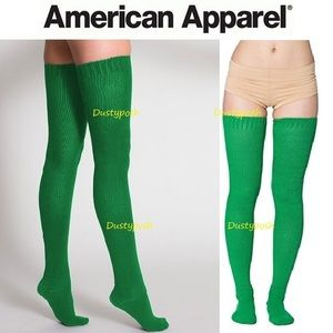 American Apparel Accessories - American Apparel Thigh High Socks Over The Knee Gr
