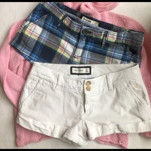 abercrombie kids Other - 🛍🛍[2 piece BUNDLE] Abercrombie girl's shorts