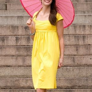 Shabby Apple yellow Shakespeare garden dress