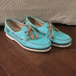 Eastland Other - Eastland teal/aqua boat shoes/top siders