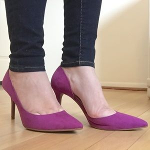 Jessica Simpson Shoes - Jessica Simpson | Suede d'Orsay Pumps
