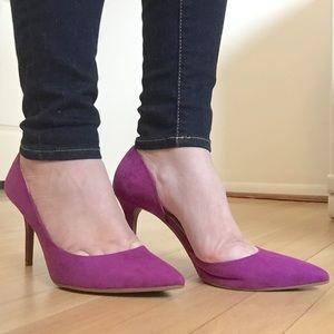 Jessica Simpson Shoes - 🆕 Jessica Simpson | Suede d'Orsay Pumps