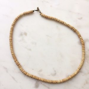 Jewelry - Tan Beaded Necklace