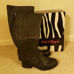 Pink & Pepper Shoes - Pink and Pepper Boots New in Box