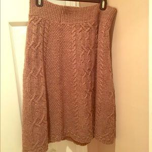 Anthropologie Moth Sweater Skirt... $6