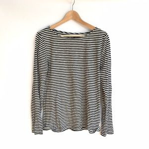 J. Crew Striped Painter Tee Long-sleeves