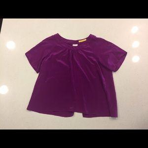 Aaron Ashe Tops - Aaron Ashe open back silk blouse