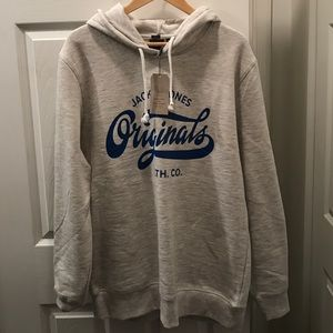 Jack and Jones Other - JACK & JONES HOODIE NWT XL GREY/BLUE