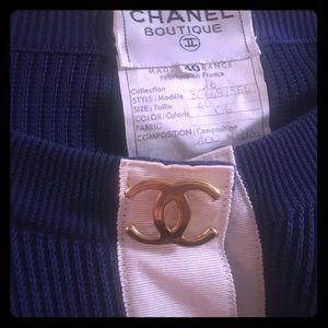 Vintage Chanel boutique sweater