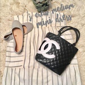 J.Crew mini sleeveless dress medium