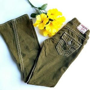 ⬇Flash Sale⬇True Religion Green Cords