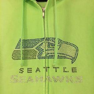 buy online 16ec5 831d3 Fabulous Lime Green Seahawks hoodie