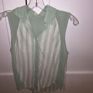 Topshop Sleeveless blouse