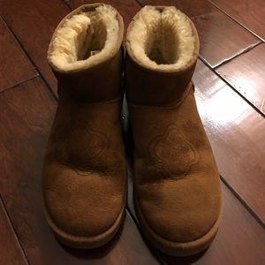 UGG Shoes - UGG Classic Mini Kimono Boots!!!Chestnut size 8