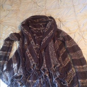 Free People fringe wrap!!
