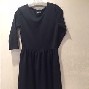 ASOS Dresses & Skirts - asos black textured skater dress
