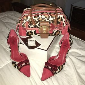 coach Bag and Shoes