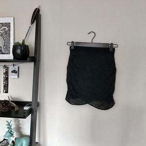 Topshop Dresses & Skirts - Topshop Drape Skirt
