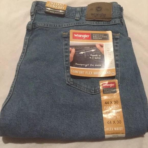 dark indigo advanced wrangler hei waistband fit wid flex fmt men jeans p comfort relaxed a s comforter