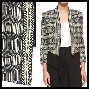 Haute Hippie Jackets & Blazers - haute hippie // NWT embellished cropped jacket