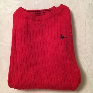 Jack Wills Sweaters - Jack wills orange cable knit sweater