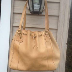 Women's Bally Tan Leather Hobo Bag  Minor markings