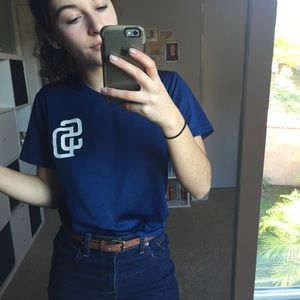 Other - Padres v-neck top