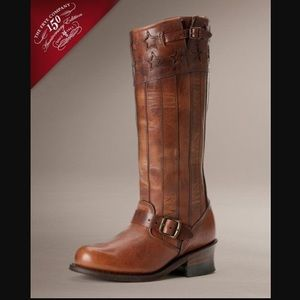Frye Shoes - FRYE BOOTS AMERICANA TALL BOOT