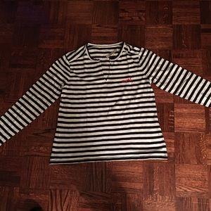 Madewell Tops - MADEWELL whisper cotton T in estelle stripe