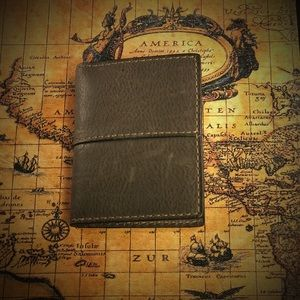 Fossil Other - Fossil Bifold Wallet Ethen Slim Gunmetal