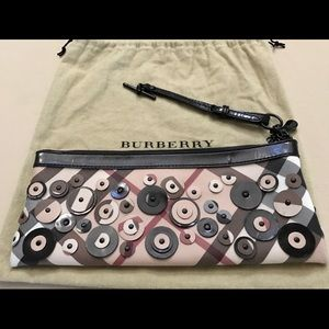 Authentic Burberry clutch bag limited edition