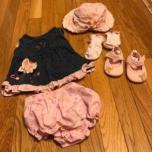 Koala Kids Other - Koala baby 5 piece dress set girls size 6-9 months