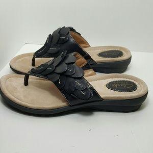 Clarks Shoes - Black, leather Clark's Artisan Shoe