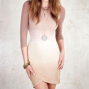 Gypsy 05 Dresses & Skirts - Gypsy05 Bastet Bamboo 3/4 SLV Open Back Wrap Dress