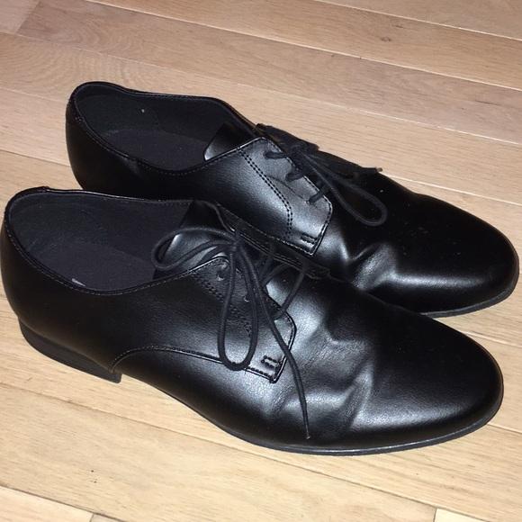 75f94d38458e1 H&M black dress shoes size 41 - 8.5 men's