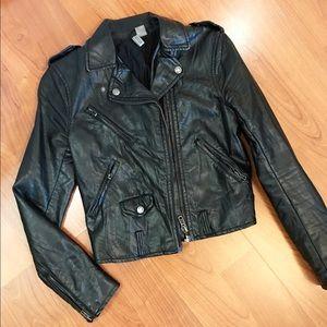 Wrinkled Biker jacket